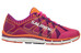 Salming W's Miles Shoes Pink Glo/Purple Cactus Flower